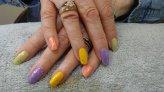 NailMua: Rainbow Glitter Natural