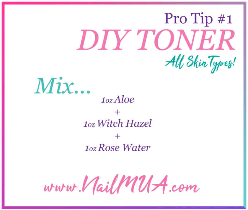NailMUA: DIY Toner