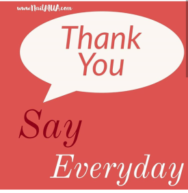 Say Thank You Everyday