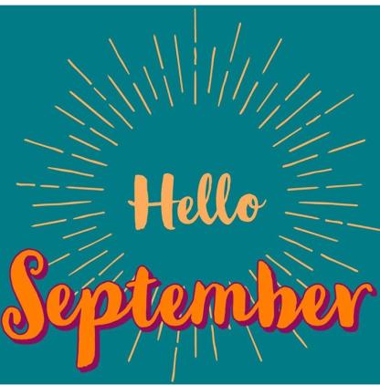 Hello September 2018