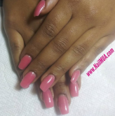 Custom Color Sculpted Acrylic Extensions $75