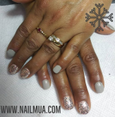 Gel Polish with design $60