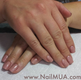 Neutral Gel Manicure $40