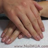 Neutral Gel Manicure $40